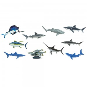 Океанические рыбы в тубусе Safari Ltd 100265