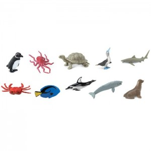 Набор фигурок Жители Тихого океана в тубусе Safari Ltd 100308