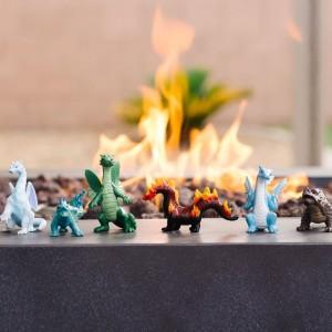 Набор драконы стихий в тубусе Safari Ltd 100416