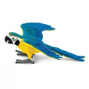Сине-желтый ара Safari Ltd 264029