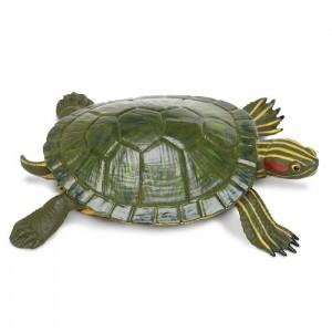 Красноухая пресноводная черепаха XL Safari Ltd 269529