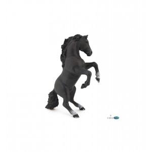 Черный конь Раро 51522 во свече