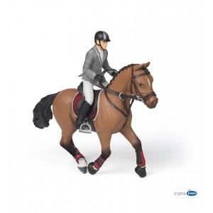 Турнирная лошадь с всадником Раро 51561