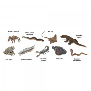 Ядовитые существа в тубусе Safari Ltd 679504