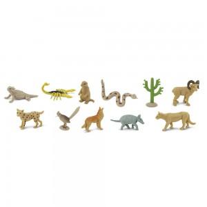 Жители пустыни в тубусе Safari Ltd 682504