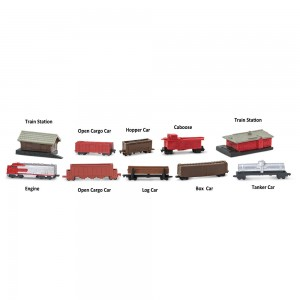 Железнодорожный транспорт в тубусе Safari Ltd 684104