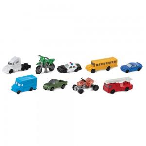 Набор фигурок Дорожный транспорт в тубусе Safari Ltd 684904