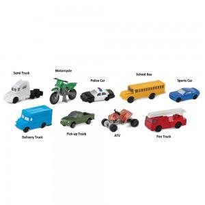 Дорожный транспорт в тубусе Safari Ltd 684904