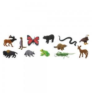 Набор фигурок Жители леса в тубусе Safari Ltd 685504