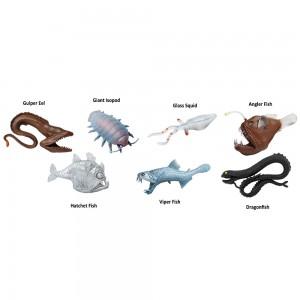 Глубоководные животные в тубусе Safari Ltd 688104