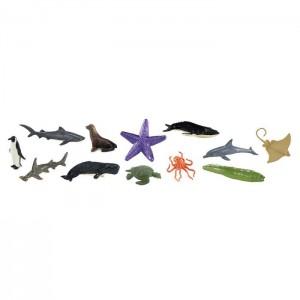 Жители океана в тубусе Safari Ltd 695104