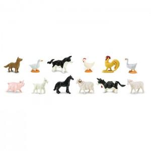 Фермерские животные в тубусе Safari Ltd 695204