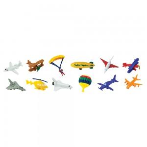 Воздушный транспорт в тубусе Safari Ltd 699404