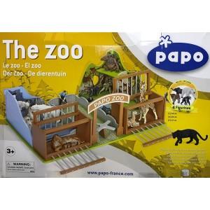 Зоопарк с фигурками Papo 80005