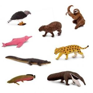 Южно-американские животные в тубусе Safari Ltd 100684