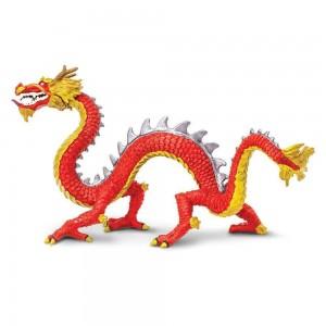 Рогатый китайский дракон Safari Ltd 10135
