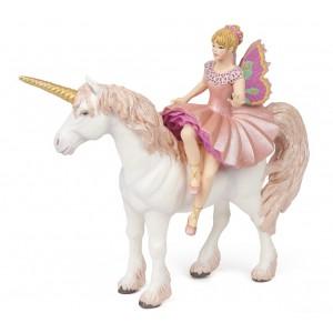 Эльфийка-балерина с единорогом Papo 38822