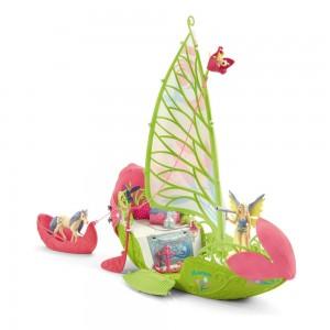 Волшебная цветочная лодка Серы Schleich 42444