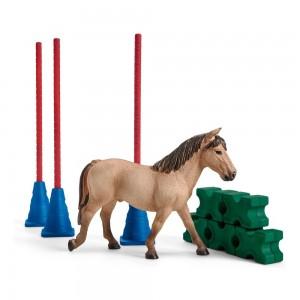 Препятствия для конкурса с лошадью Schleich 42483