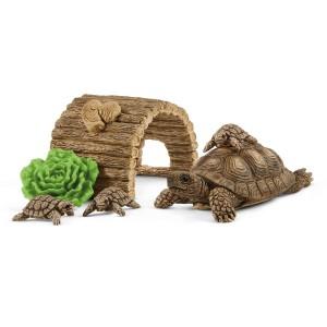Домик для семьи черепах Schleich 42506