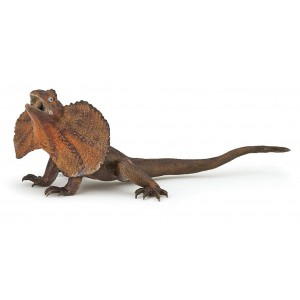 Плащеносная ящерица Papo 50223