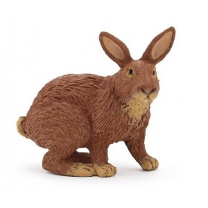 Коричневый кролик Papo 51049