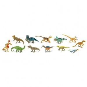 Набор фигурок Динозавры в тубусе Safari Ltd 681904