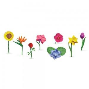 Набор цветы в тубусе Safari Ltd 682904