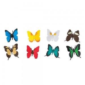 Набор фигурок Бабочки в тубусе Safari Ltd 684504