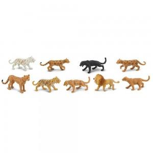 Набор фигурки Большие кошки в тубусе Safari Ltd 694604