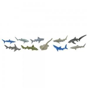 Набор Акулы в тубусе Safari Ltd 697104