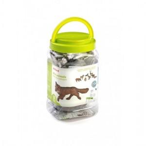 Набор фигурок лесных животных в контейнере Miniland 25126
