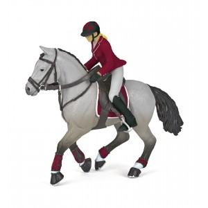 Лошадь с всадницей Papo 51563