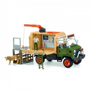 Игровой набор Большой ветеринарный грузовик Schleich 42475