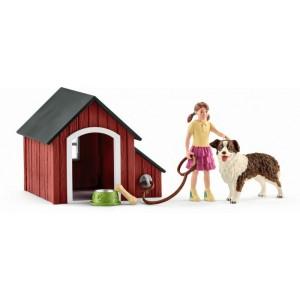 Собачья будка Schleich 42376
