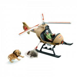 Ветеринарный вертолет Schleich 42476