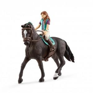 Всадница на лошади Schleich 42413