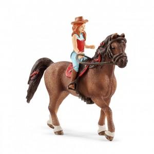 Всадница на лошади Schleich 42411