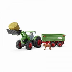 Трактор с прицепом Schleich 42379