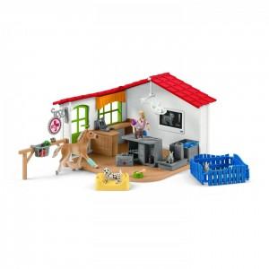 Ветеринарная клиника с домашними животными Schleich 42502