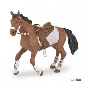 Лошадь Papo 51553 в зимней амуниции